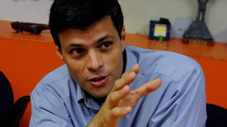 Venezuela: ordenan arresto de Leopoldo lopez