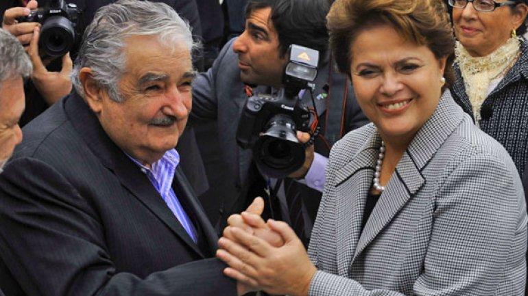 Mujica viaja este viernes a Brasil para reunirse con Rousseff