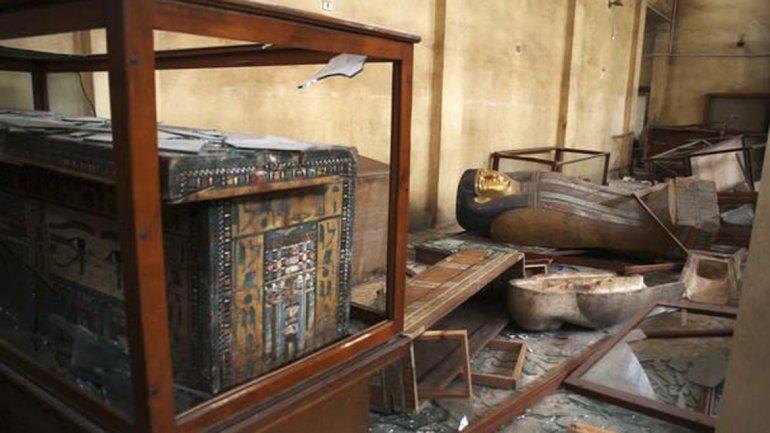 El Museo Nacional de Malawi tras los saqueos
