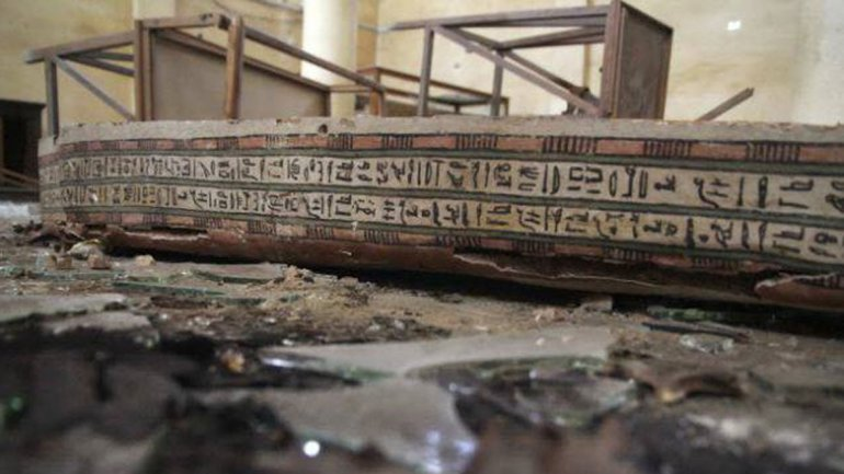 Partidarios del derrocado Mursi arrasaron con el lugar