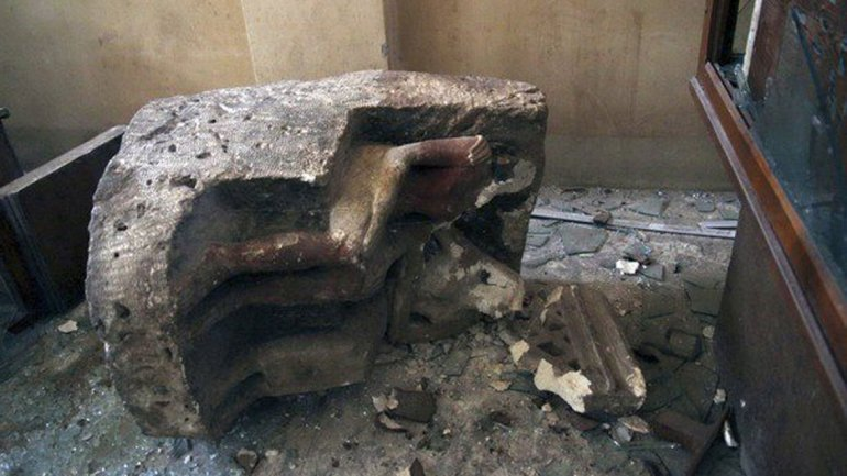 Durante el fin de semana fueron saqueados dos museos
