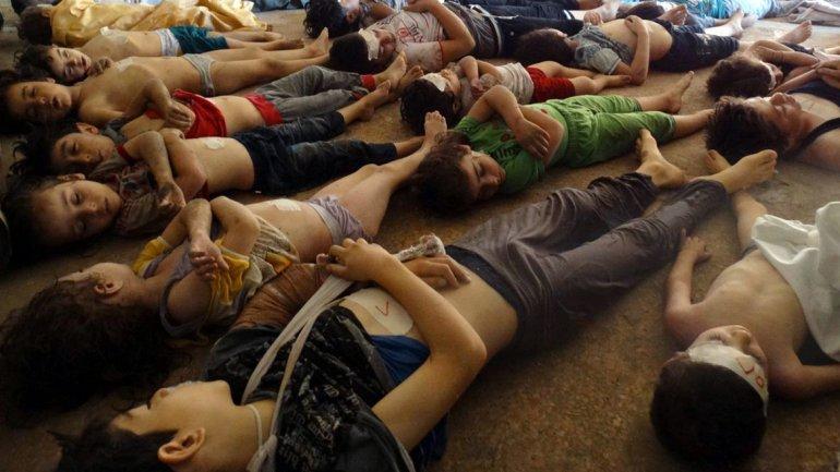 El 21 de agosto, fuerzasleales al dictador Al Assadasesinaron con gas tóxico a cientos de civiles, entre ellosmás de 300 niños