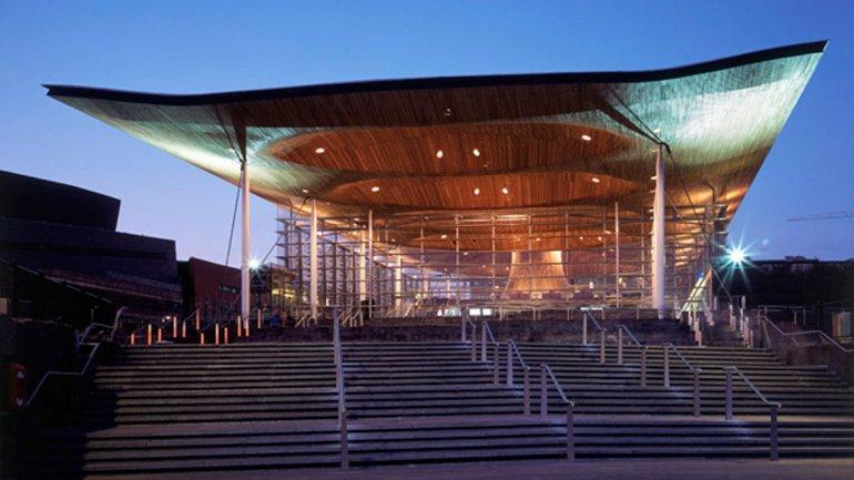 Obras de Rogers:Asamblea Nacional de Gales
