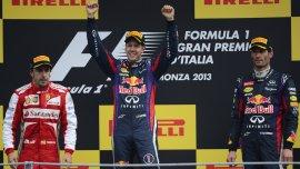 Victoria del líder de la F1. Vettel se impuso en Monza, donde Ferrari es local.
