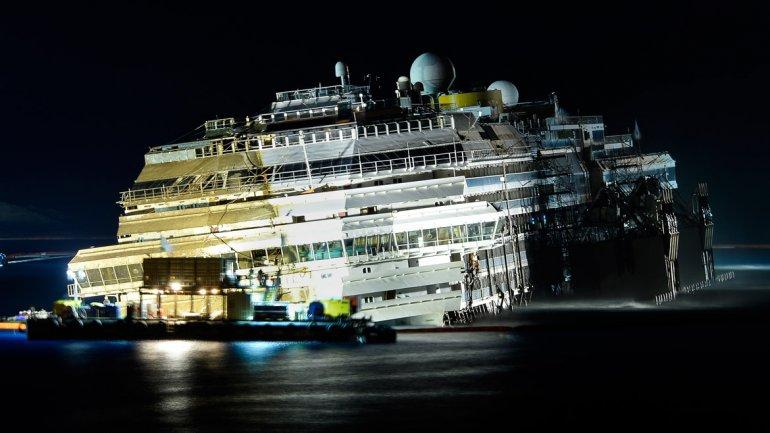El jefe de la Protección Civil sostuvo que el barco terminó su ruta como estaba previsto yalcanzó la vertical