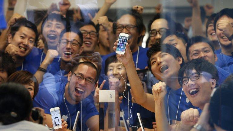 Abrieron las tiendas de <b>Apple </b>en Australia, Hong Kong, Japón, Singapur y China