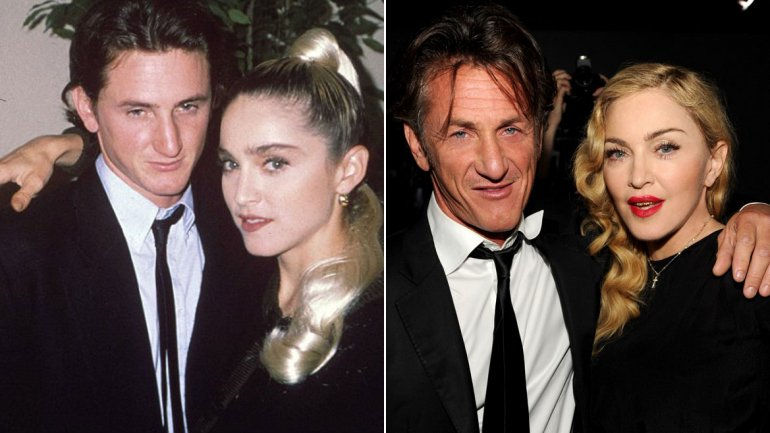 Madonna And Sean Penn 2013