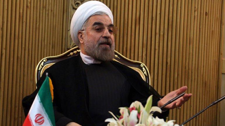 El presidente Hasan Rohani anunció la construcción de la instalación nuclear Pasman Gor