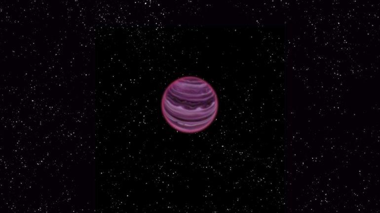 Una ilustración del nuevo planeta