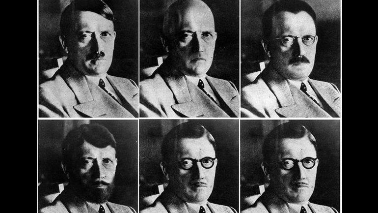 Retratos de Hitler creados por los Servicios de Inteligencia de Estados Unidos tras la bomba de Hiroshima