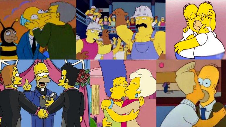 Piden A Los Simpson Menos Desnudos Y M S Respeto Dios