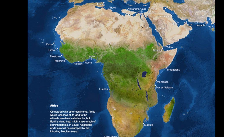 Los efectos del calentamiento global y el derretimiento de los glaciares en África
