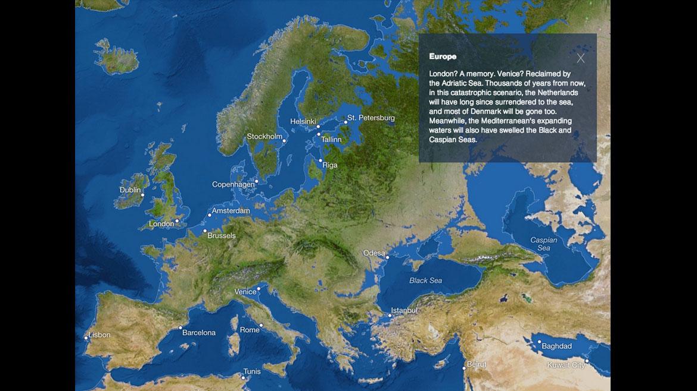 Los efectos del calentamiento global y el derretimiento de los glaciares en Europa