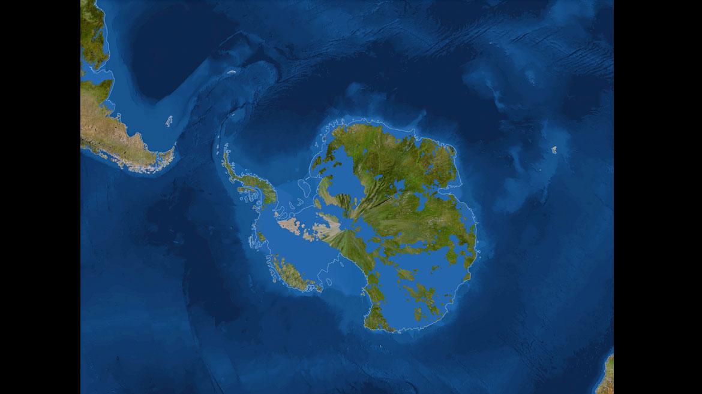 Los efectos del calentamiento global y el derretimiento de los glaciares en la Antártida