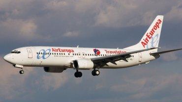 El pasajero viajaba en un avión de Air Europa