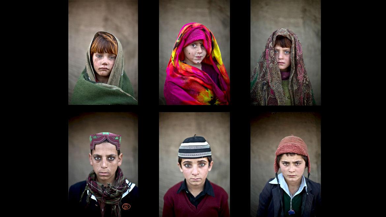 Nacido en Jerusalén, Muheisen retrata a niños afganosrefugiados en Pakistán