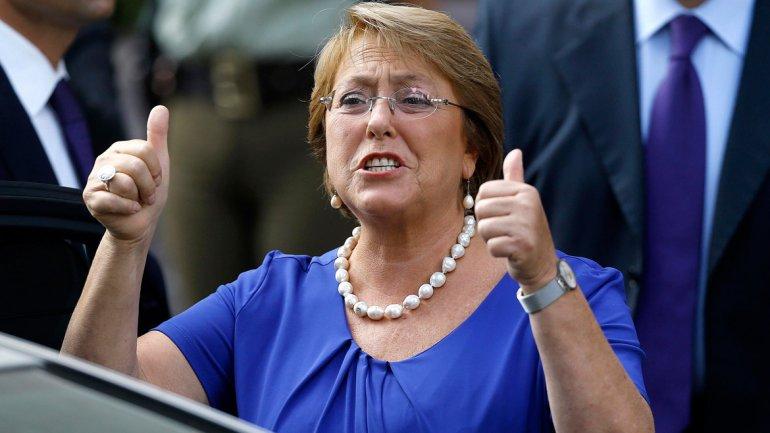 Michelle Bachelet asume su segundo período al frente de Chile