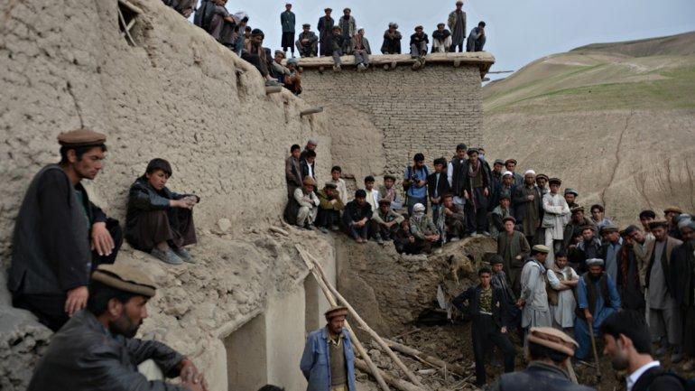 Los desastres naturales son habituales en esta región: terremotos y deslaves son habituales