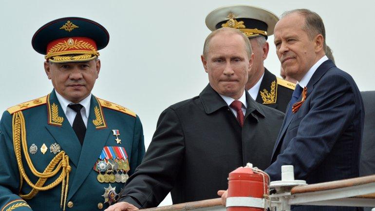 El presidente de Rusia, Vladimir Putin, durante una visita a la flota rusa apostada en Crimea, en agosto de 2015.