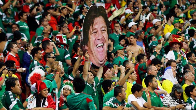 Miguel Herrera, el desquiciado entrenador de México