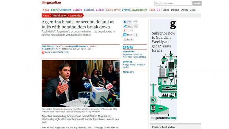 The Guardian, uno de los medios británicos más reconocidos