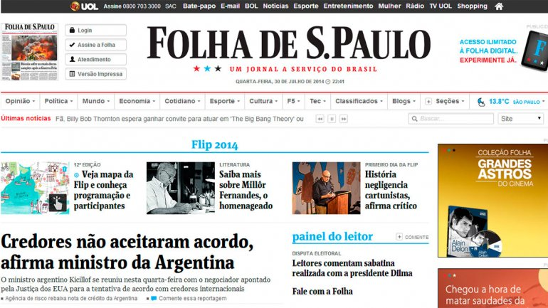 Folha de San Pablo