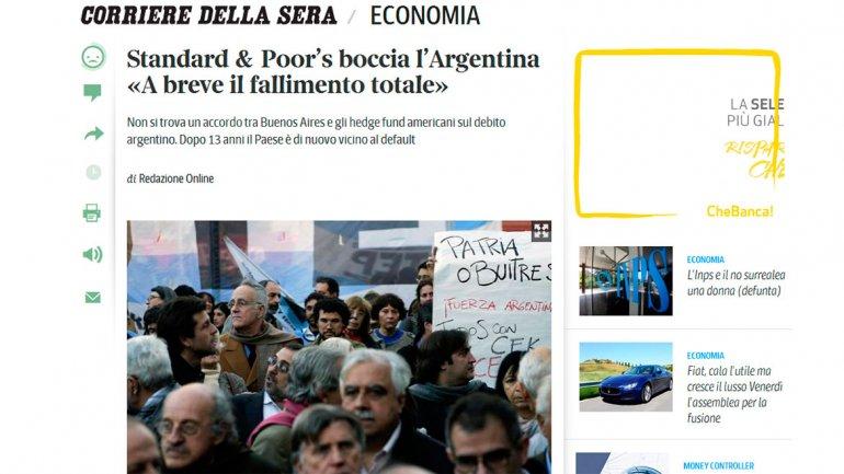El Corriere della Sera, de Italia