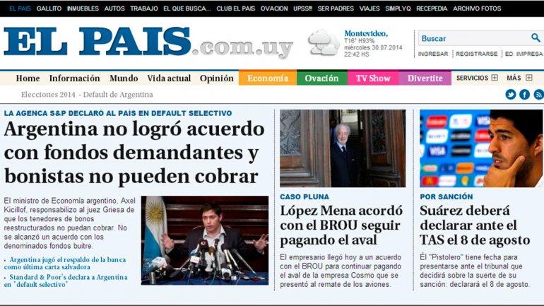 El País, de Uruguay