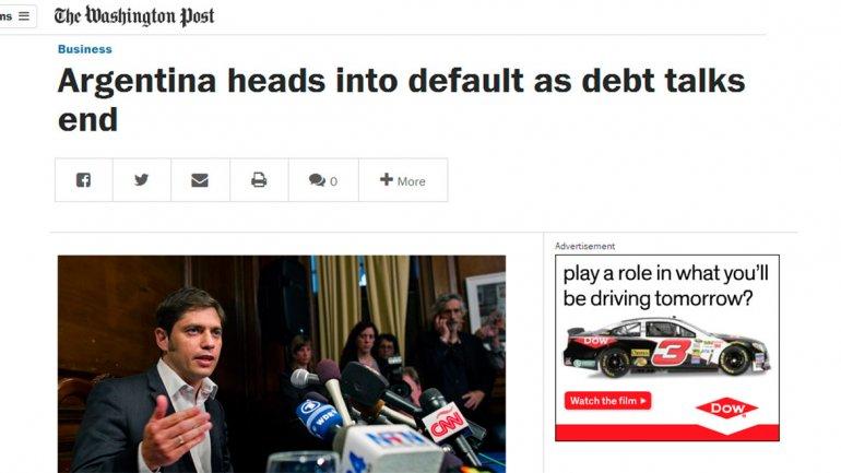 El prestigioso Washington Post