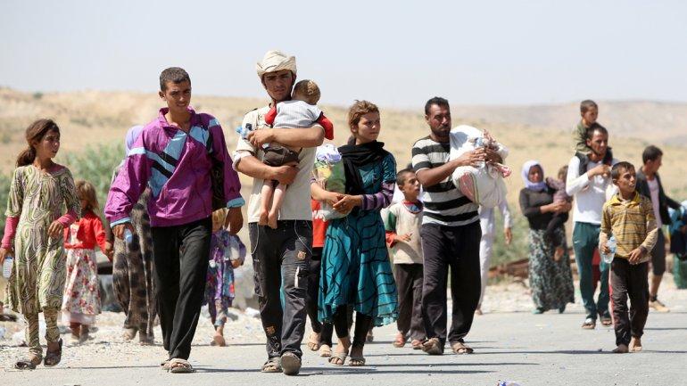 15 mil cristianos abandonan Irak caminando por el desierto