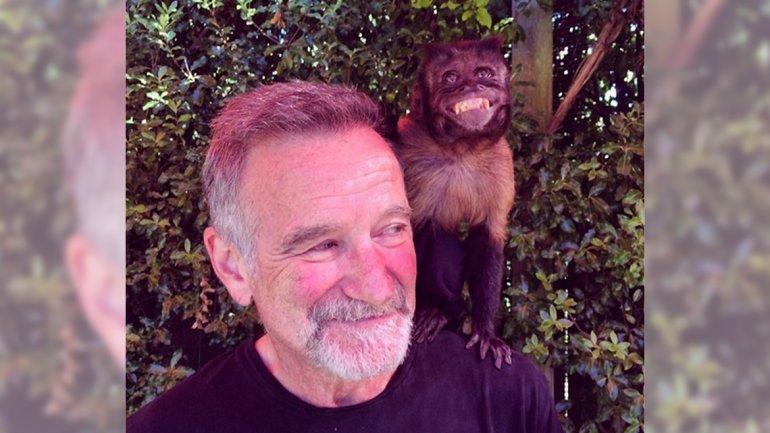 La última foto de Robin Williams antes de morir