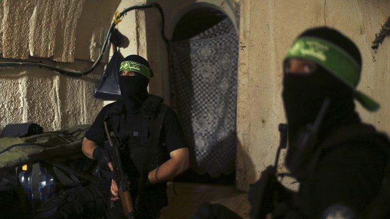 Más de mil terroristas de Hamas se encargan de cavar los túneles en la Franja de Gaza