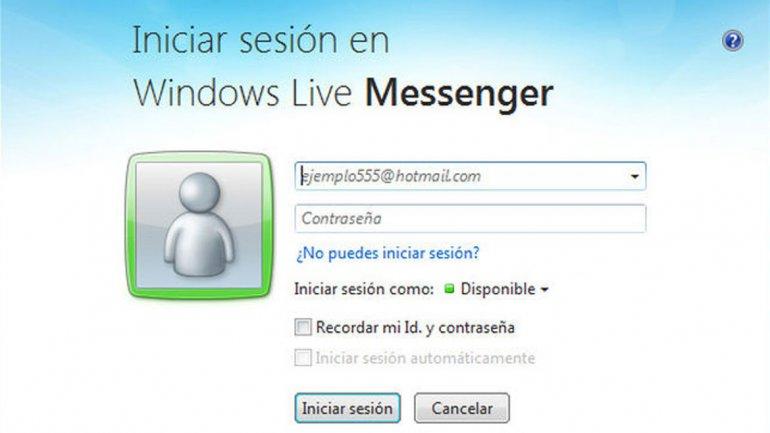 Microsoft anunció el adiós al MSN Messenger