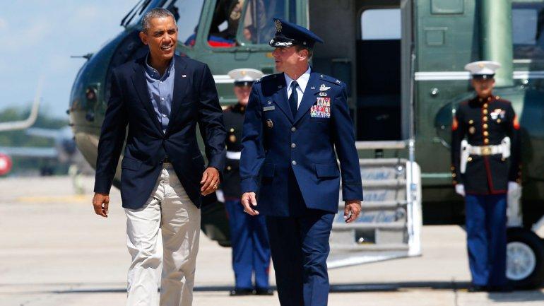 Obama defendió ante el Congreso la ofensiva que permitió romper el asedio de ISIS en Irak