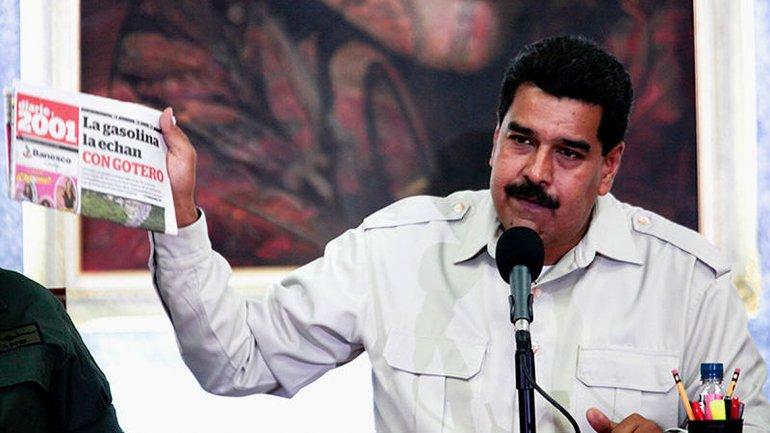 Censura Chavista a las redes sociales