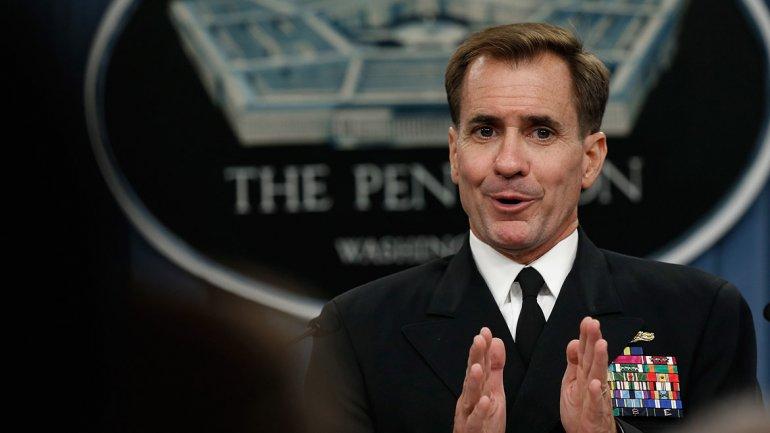 John Kirby, vocero del Departamento de Estado de EEUU