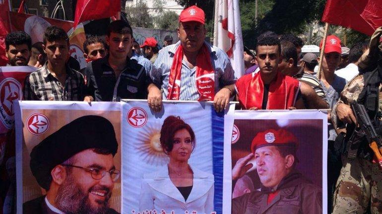 Cristina Kirchner, terroristas