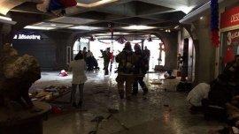 De los lesionados, seis sufrieron un trauma auditivo debido al ruido de la explosión y cuatro, daños físicos por esquirlas