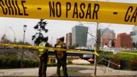 La explosión, que dejó a diez personas heridas, se produjo en una estación del metro de Santiago