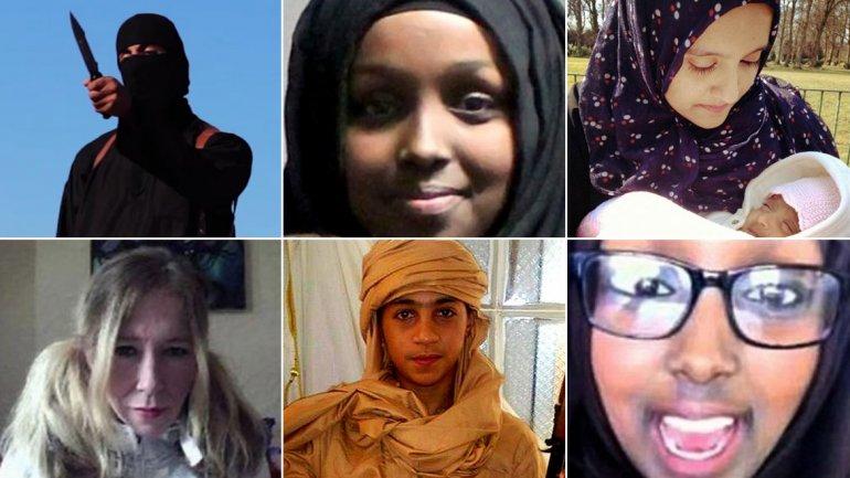 Los yihadistas islámicos para reclutar jóvenes europeos