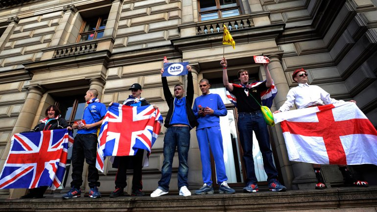 Escoceses rechazan ser independientes y se mantienen en Reino Unido
