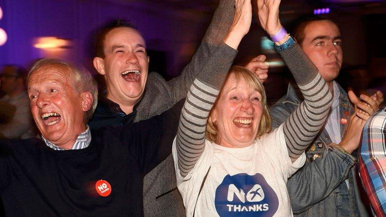 El Reino Unido respira: el No se impuso en el referéndum independentista de Escocia