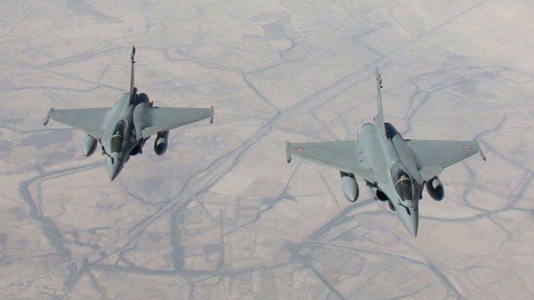 EEUU y la coalición internacional comenzaron los bombardeos a posiciones del ISIS en Siria