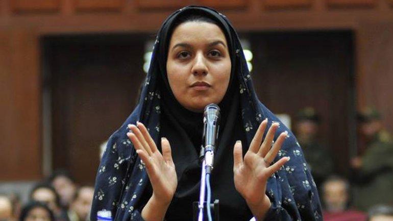Irán pospuso la ejecución de la mujer que mató a su violador