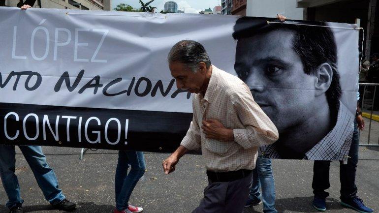 Leopoldo López denunció a Nicolás Maduro por dos de las tres muertes del 12 de febrero