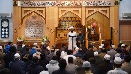 Elimán Asim Hussain, de la Mezquita Central de Manchester