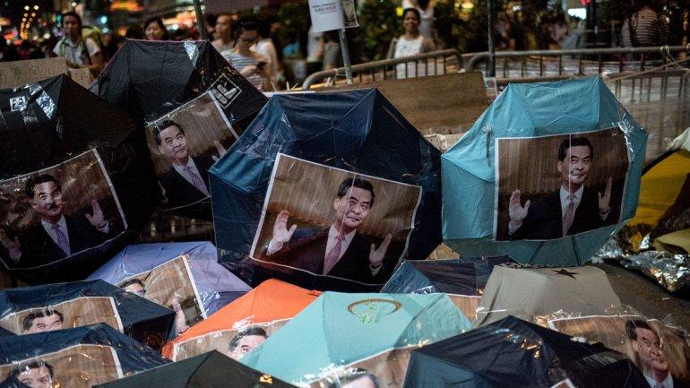 Hong Kong: el jefe del ejecutivo dijo que hay fuerzas extranjeras alentando las protestas