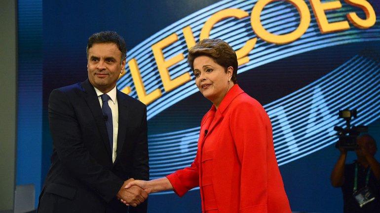 Neves a Rousseff en el debate brasileño: Para combatir la corrupción es sacar PT del poder