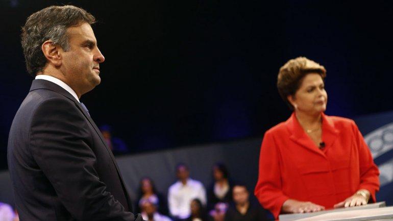 Brasil: rating récord en el debate entre Dilma Rousseff y Aécio Neves de cara a los comicios