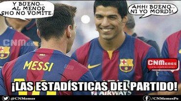 La mordida de Suárez y los vómitos de Messi, fueron usados por los fanáticos del Real Madrid, que disfrutan el triunfo por 3-1